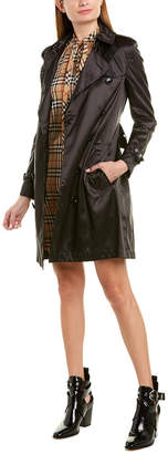 Burberry Detachable Hood Trench Coat