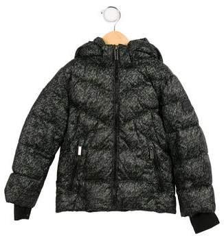 ADD Boy' Printed Down Coat