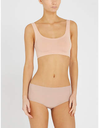 Hanro Touch Feeling stretch-jersey crop top
