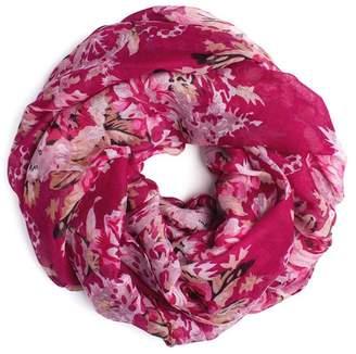 Riah Fashion Floral Infinity Scarf