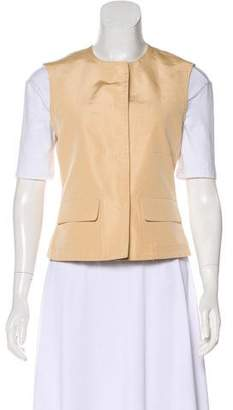 Narciso Rodriguez Scoop Neck Utility Vest