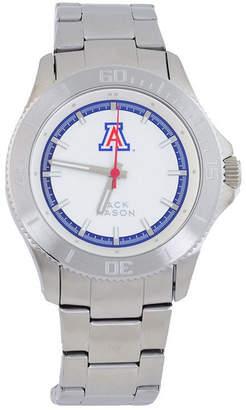 Jack Mason Men's Arizona Wildcats Sport Bracelet Silver Watch