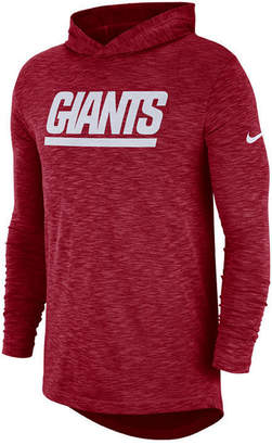 Nike Men's New York Giants Dri-Fit Cotton Slub On-Field Hooded T-Shirt