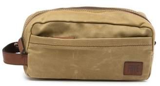 Frye Carter Leather Trimmed Dopp Kit