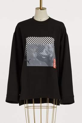 FENTY PUMA by Rihanna Oversized printed sweatshirt