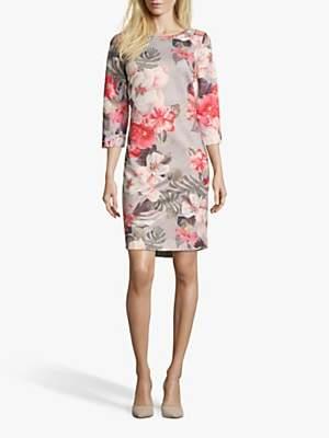 Betty Barclay Floral Jersey Dress, Multi