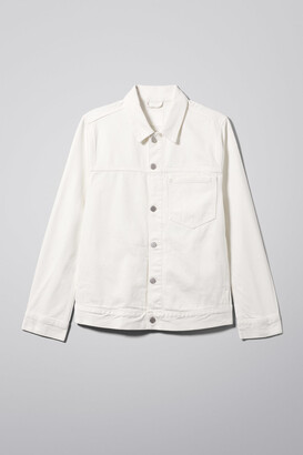 Weekday Core Off White Jacket - White
