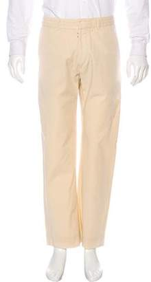 Maison Margiela Twill Flat Front Pants