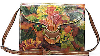 Patricia Nash Heritage Print Collection Van Sannio Floral Buckled Cross-Body Bag $169 thestylecure.com