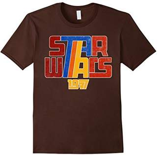 Star Wars Super Retro 1977 Custom Logo Graphic T-Shirt