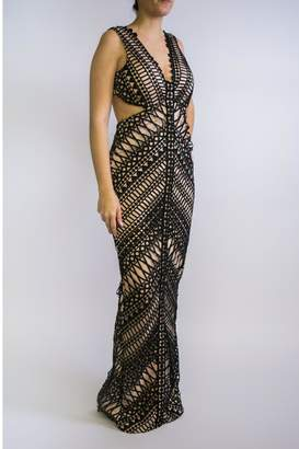 Lumier Bariano Black Dress