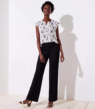 LOFT Trousers in Custom Stretch in Curvy