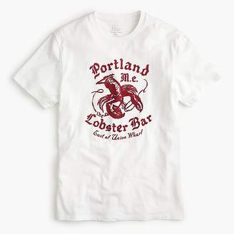 J.Crew Portland Lobster Bar graphic T-Shirt