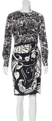 GucciGucci Silk Printed Dress