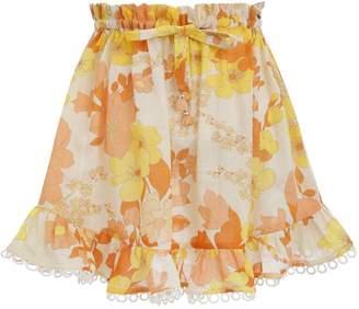 Zimmermann Primrose Flounce Skirt