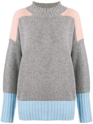 Parker Chinti & cashmere mesh knit sweater