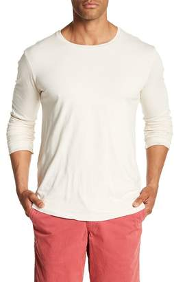 Velvet by Graham & Spencer Classic Long Sleeve Solid Tee