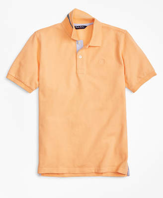 Brooks Brothers Boys Short-Sleeve Pique Polo Shirt
