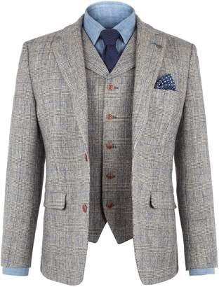 Gibson Men's Silver Grey Check Jacket