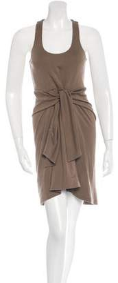 Halston Sleeveless Wool Dress