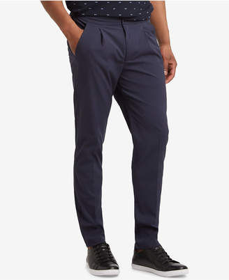 Kenneth Cole New York Kenneth Cole Men's Slim-Fit Seersucker Pants