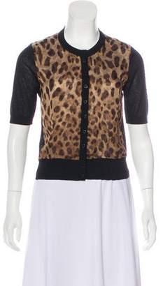 Dolce & Gabbana Silk-Blend Cardigan