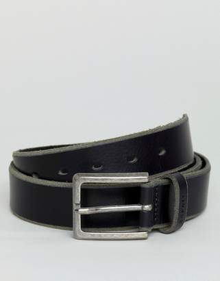 Esprit Leather Belt In Black