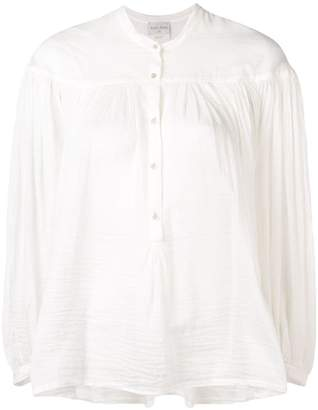 Forte Forte ruched detail blouse