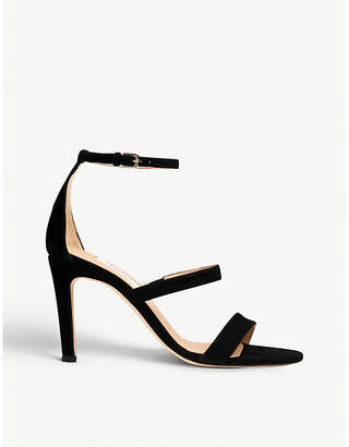 LK Bennett Nina suede heeled sandals