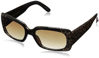 Betsey Johnson Women's Jasmine Square Sunglasses