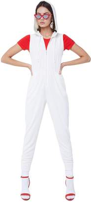 Juicy Couture Microterry Hooded Jumpsuit