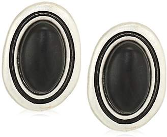 The Sak Women's Large Stone Stud Earrings