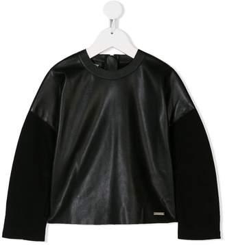 DSQUARED2 contrast sweatshirt