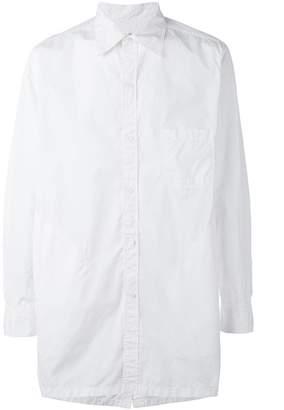 Yohji Yamamoto oversized long sleeve shirt