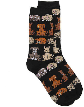 K. Bell Dogs Crew Socks - Women's