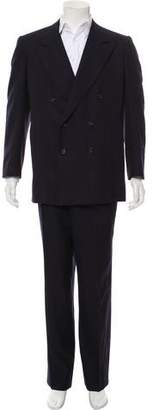 Lanvin Wool Double-Breasted Two-Piece Suit