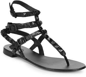 Ash Women's Mumbaia Leather Stud Sandals