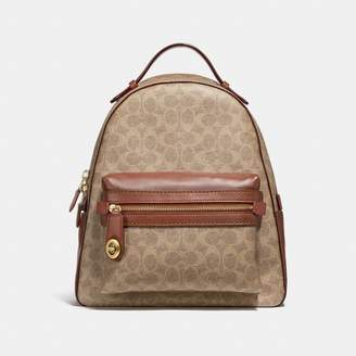 Coach Campus Backpack In Signature Canvas