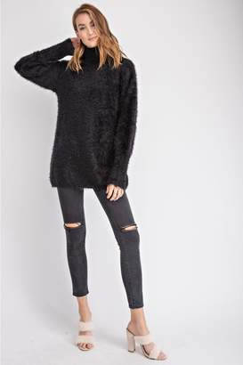 Easel Mohair Turtleneck Sweater