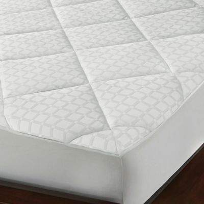 SoftesseTM Hygro® Tencel® 300-Thread Count Twin Mattress Pad in White