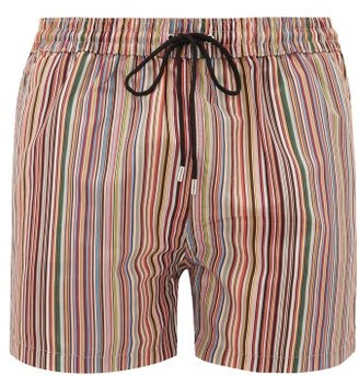 b2600f60bb Paul Smith Signature Stripe Swim Shorts - Mens - Multi