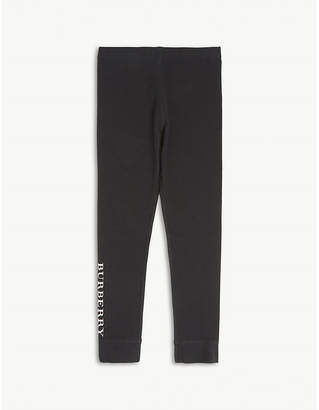 Burberry Penny cotton leggings 4-14 years