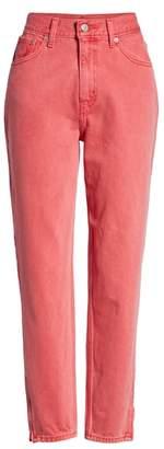 Levi's High Waist Ankle Mom Jeans