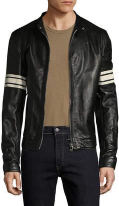 Dolce & Gabbana Solid Moto Jacket