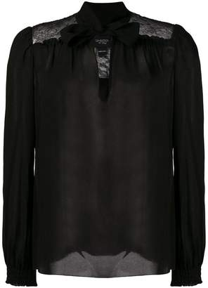 Giambattista Valli pussy bow blouse