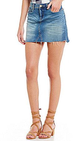 Chelsea & VioletChelsea & Violet 5-Pocket Denim Mini Skirt