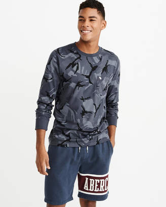 Abercrombie & Fitch Long-Sleeve Camo Icon Tee
