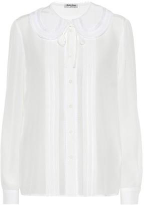 Miu Miu Silk blouse