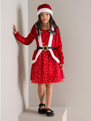 George Christmas Miss Santa Costume