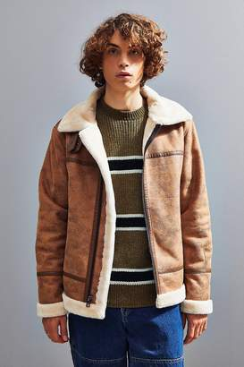 Urban Outfitters Faux Shearling B3 Bomber Jacket